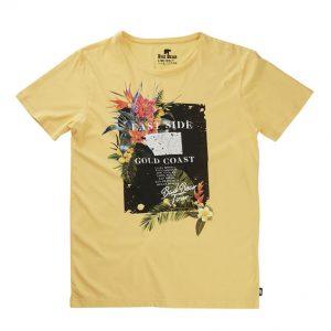 Bad Bear Sarı Renk Baskılı Tshirt